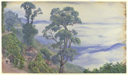 Clouds from Darjeeling. Septr. 1878. India